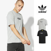 【GT】Adidas Originals 灰 短袖T恤 運動 休閒 純棉 上衣 短T 愛迪達 三葉草 Logo DH4971