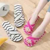 浴室拖鞋女家居室內防滑情侶拖鞋女洗澡厚底塑料沖涼拖鞋男士夏季