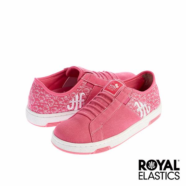 Royal Elastics  x Hello Kitty Icon Washed 經典運動鞋-粉紅