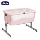 【加贈新生兒禮】chicco-Next 2 Me多功能移動舒適床邊床-石英粉