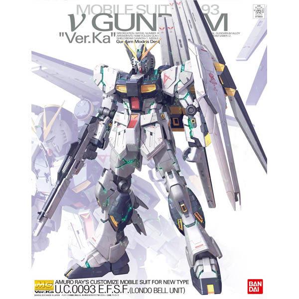 鋼彈 BANDAI組裝模型 MG 1/100 RX-93 ν Nu鋼彈Ver. Ka
