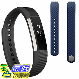 [106美國直購] 錶帶 Fitbit Alta Activity Tracker Bundle - Large