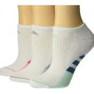 Adidas 女阿迪達斯無顯3雙包(白色)
