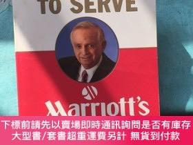 二手書博民逛書店The罕見Spirit to Serve Marriott s WayY434969 Jw Marriott;