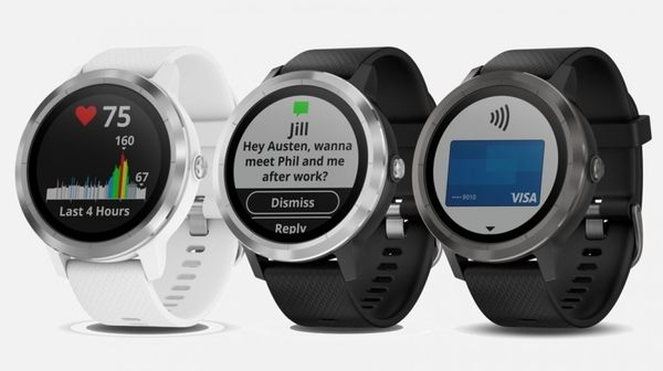 Garmin Vivoactive 3 腕式心率GPS智慧運動錶