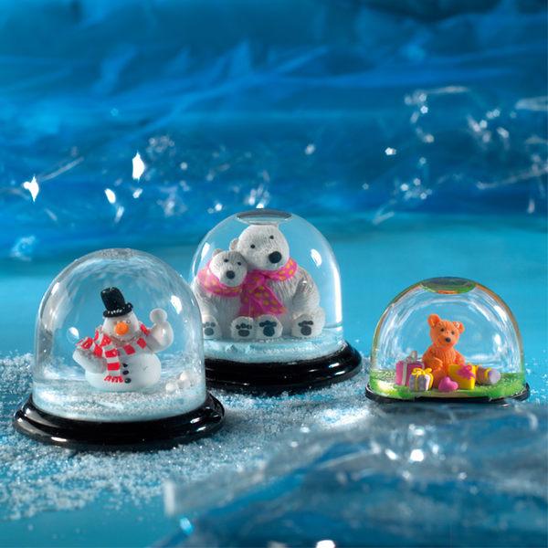 施德樓FIMO軟陶 ACCESSORIES MS8629 42 DIY藝術家輔助用品-圓型北極熊水晶球