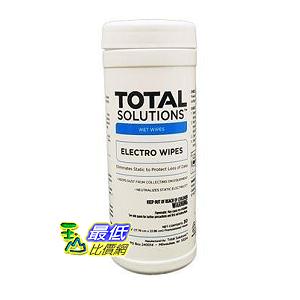 """[8美國直購]靜電擦拭布 Total Solutions 1449 Electro Wipes, 6 x 8"""" 30 Ct., 6/Cs."""