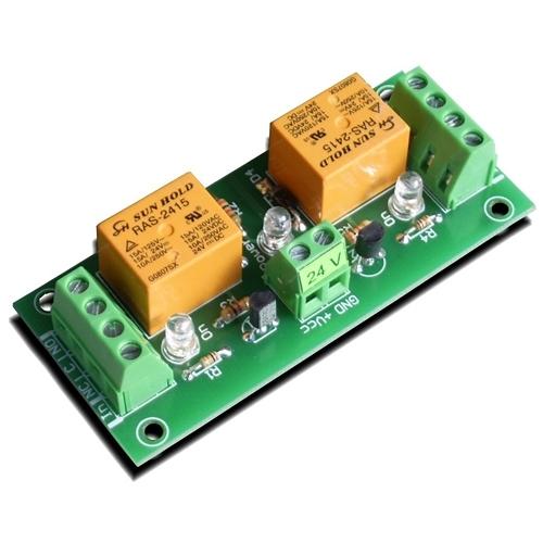 [2美國直購] denkovi 中繼板 2 Channel relay board for your Arduino PI DAE-RB/Ro2 - 24V