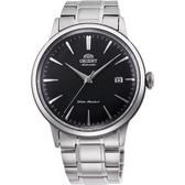 ORIENT東方 紳士機械錶-黑x銀/40.5mm RA-AC0006B