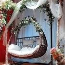 吊椅 吊籃藤椅懶人椅室內吊床家用吊蘭搖椅陽臺秋千搖籃椅庭院雙人吊椅