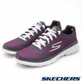 SKECHERS 女鞋 運動系列 GO Fit TR 超輕量健身房 - 紫x灰14095CCPK