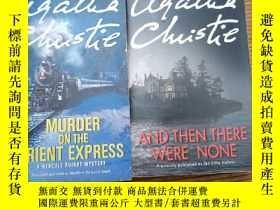 二手書博民逛書店Murder罕見on the orient express &