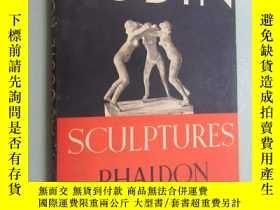 二手書博民逛書店英文罕見SCULPTURES PHAIDON (羅丹雕刻集)硬精裝 老版本Y15969