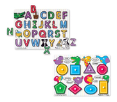 木製學習拼圖