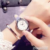 韓版復古女學生手錶女皮帶森女繫時尚潮流簡約羅馬小錶盤石英女錶      智能生活館