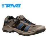 丹大戶外【TEVA】Omnium 2 戶外謢趾水陸運動涼鞋 TV1019180BNGC 藍 橄欖綠