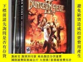 二手書博民逛書店官方遊戲攻略罕見Dungeon Siege II 地牢圍攻2 破