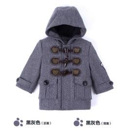 【漢博】CThouse 采童莊 - 泰迪熊冬季兒童毛大衣外套羊角扣