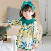 女童長袖公主裙子0一3歲1女寶寶連身裙潮2018新款秋裝嬰兒童洋氣