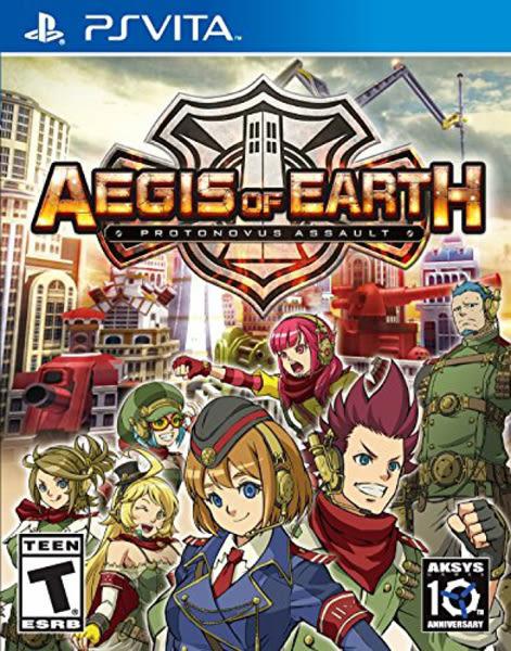 PSV Aegis of Earth: Protonovus Assault 絕對迎擊戰爭(美版代購)