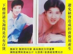 二手書博民逛書店港臺著名歌星罕見王力宏照片 2張Y23537