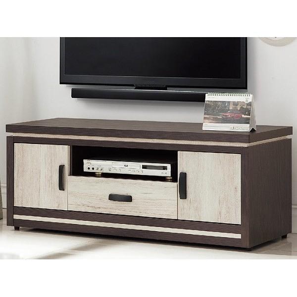電視櫃 PK-386-6 168雙色4尺長櫃【大眾家居舘】