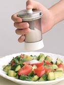 定量控鹽器創意按壓式撒鹽罐單個家用小孔撒鹽器調味瓶廚房調味罐
