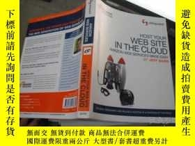 二手書博民逛書店HOST罕見YOUR WEB SITE IN THE CLOUD