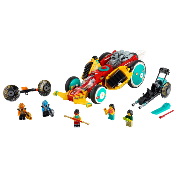 【LEGO樂高】Monkie Kid 悟空小俠 雲霄跑車#80015