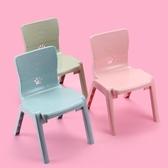 兒童椅子加厚家用小孩子餐椅  cf