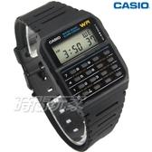 CASIO卡西歐 CA-53W-1 復古潮流風電子錶 計算機 橡膠男錶 學生錶 黑 CA-53W-1Z