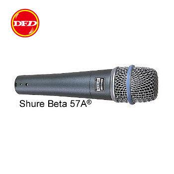 美國SHURE麥克風 BETA 57A 高階動態人聲與樂器收音 專業首選