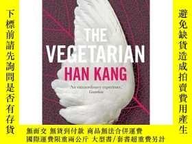 二手書博民逛書店素食主義者罕見2016年布克獎 英文原版 The Vegetarian Han KangY335736 Han