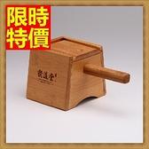 艾灸器具 艾草針灸盒-木製單孔盒溫隨身灸盒多功能65j15[時尚巴黎]