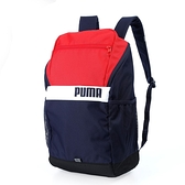 PUMA PUMA Plus紅藍白後背包-NO.07729207