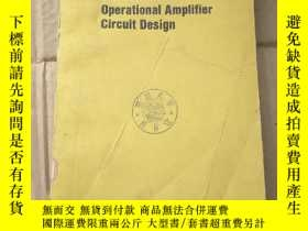 二手書博民逛書店handbook罕見of operational amplifier circuit design(P879)