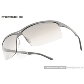 Porsche Design太陽眼鏡 PO8494 Y (銀) 高科技頂級精品個性運動款 墨鏡 # 金橘眼鏡