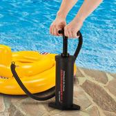游泳圈沙髮打氣省力便攜多用吹抽充氣泵水游泳池橡皮艇床墊打氣筒 名創家居館DF