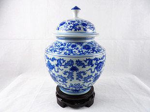 景德鎮陶瓷花瓶儲物罐 古典裝飾