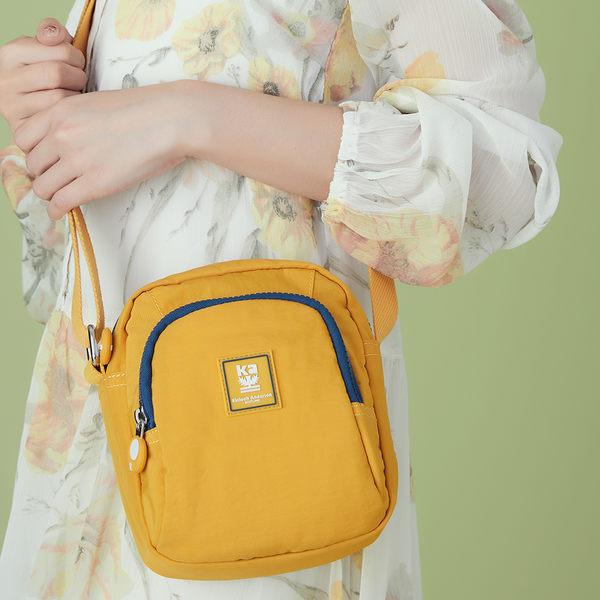 金安德森 極簡耀色 方型小款側背包 黃色