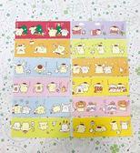 【震撼精品百貨】Pom Pom Purin 布丁狗~Sanrio 布丁狗長便條紙-橘色#11153