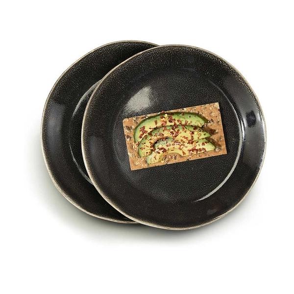 瑞典sagaform Nature瓷釉彩餐盤22cm(2入) 共2款