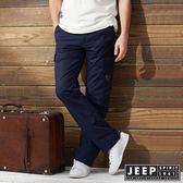 【JEEP】美式野練口袋工作長褲 (深藍)