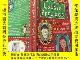 二手書博民逛書店the罕見lottie project 樂天計 劃.Y200392