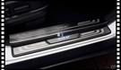 【車王小舖】HONDA CRV 4代 4.5代 迎賓踏板 外置迎賓踏板 門檻飾條 Led 藍光