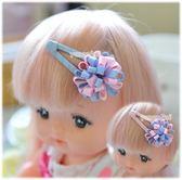 果漾妮妮 手工製迷你彩球寶寶髮夾/兒童髮飾批發/水滴夾/髮量少寶寶亦可【V3321】