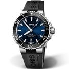 Oris豪利時Aquis時間之海300米潛水機械錶 0173377304135-0742464EB