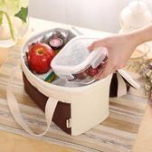 保溫袋便當包飯盒袋保冷袋保鮮便攜收納包鋁箔手提包大號  野外之家