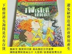 二手書博民逛書店TWISTER罕見TROUBLE(英文)Y212829