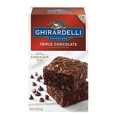 Ghirardelli Triple 巧克力布朗尼預拌粉 3.4公斤 X 1入